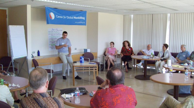 Nonkilling Education Workshop at University of Corunha